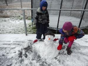 20150713 snow day 1 - snowman
