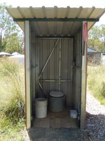 Toilet setup