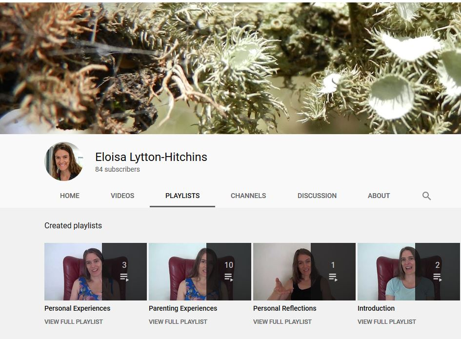 Elh youtube channel screenshot